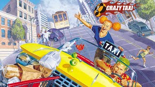 Test PSP Crazy Taxi Fare Wars HD
