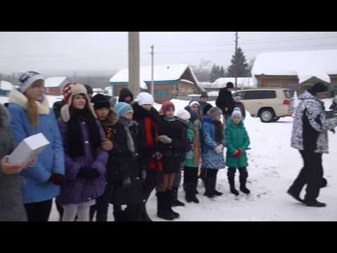 Экспедиция на снегоходах в селе Рычково Северного района Оренбургской области