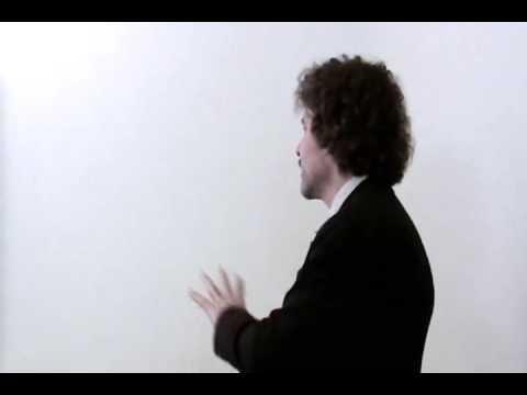 Presentation by Tony Chapman to the PSO - Part 4