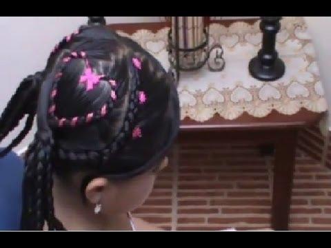 Corazones de hadas peinados para ni a paso a paso youtube - Peinados de ninas ...