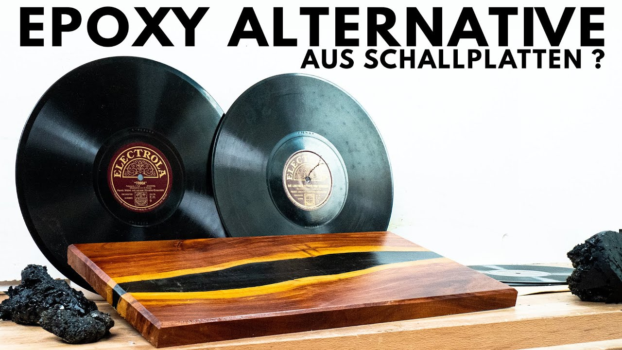 Rivertable aus Schellackplatten - Natürliche Alternative zu Epoxy?