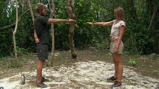 Pascal Mazza Ramsby och Nicoline Artursson möts i en duell  – Robinson (TV4)