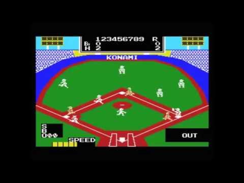 Gioco per MSX - Konami Baseball 1984 - www.glianni80.it