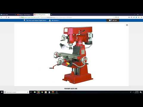DIY Metal Milling Machine 8