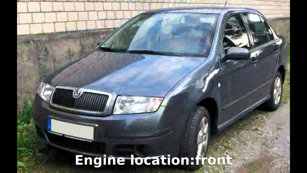 2007 skoda fabia 1 2 htp sedan classic specification info youtube. Black Bedroom Furniture Sets. Home Design Ideas