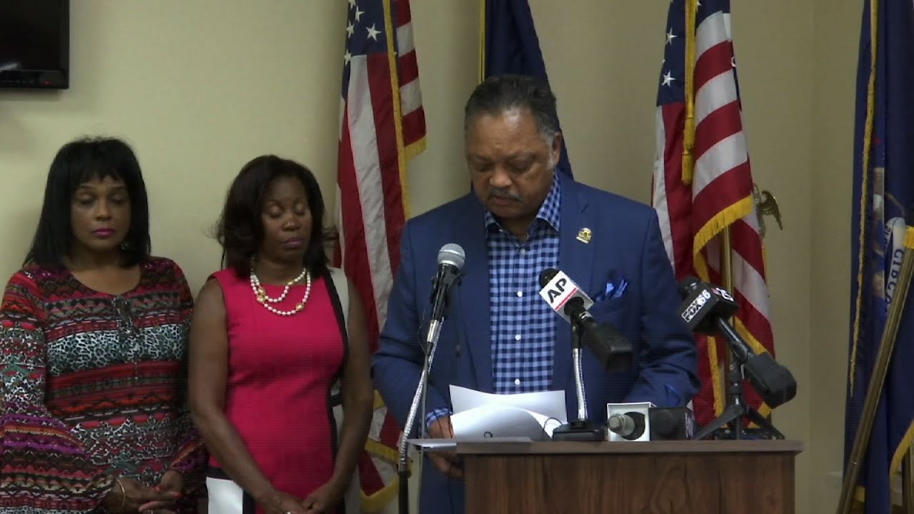 Rev. Jesse Jackson Reveals Parkinson's Diagnosis