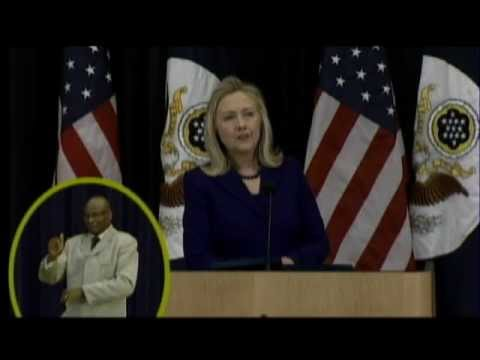 Secretary Clinton Comments on Responding to Crisis, the Civilian Response Corp, and the QDDR