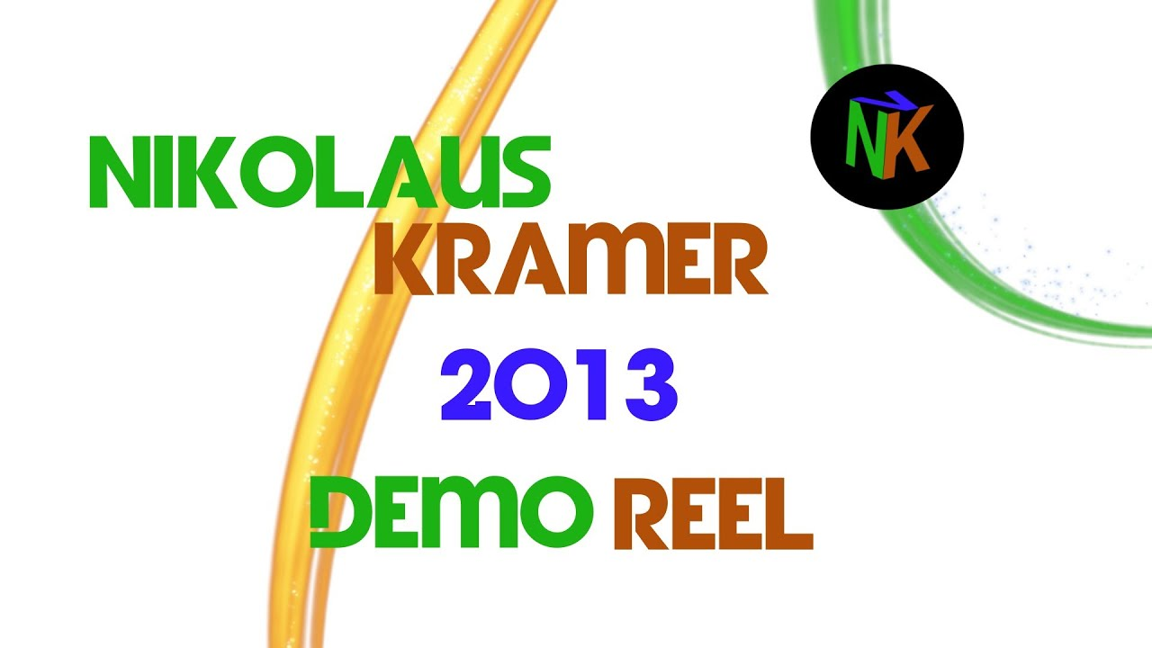 nikolaus kramer 2013 demo reel motion graphics video. Black Bedroom Furniture Sets. Home Design Ideas