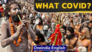 Kumbh draws comparisons with Tablighi Jamaat: What covid? | Oneindia News