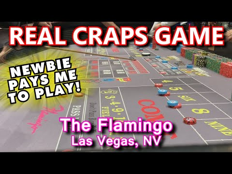 CRAPS ON THE STRIP! - Live Craps Game #47 - Flamingo, Las Vegas, NV - Inside The Casino - ASMR Video