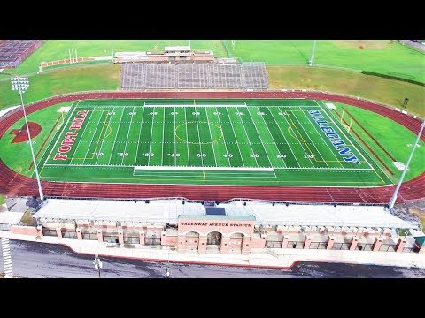 DJI Inspire 1 Drone Greenway Avenue Stadium, Allegany And Fort Hill High School Cumberland, Md 4k