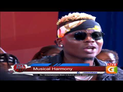 Harmonize #10Over10 electrifying performance