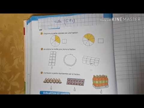 CE3 : Corrigé des exercices (les fractions) - YouTube