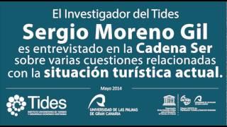 El investigador del Tides, Sergio Moreno en la Cadena Ser (La situación turística actual)