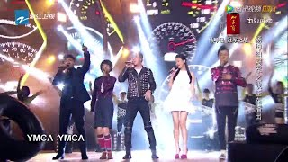 The Voice of China 3 中國好聲音 第3季 2014-09-26 :杨坤 u0026 陈永馨 u0026 余枫 u0026 徐剑秋 u0026 李文琦 《Young Man》