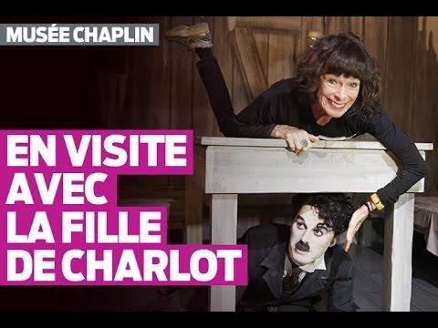 Geraldine Chaplin visite le Musée dédié à son père