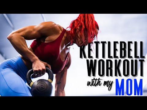 Kettlebell Workout with my MOM - Get inspired xo