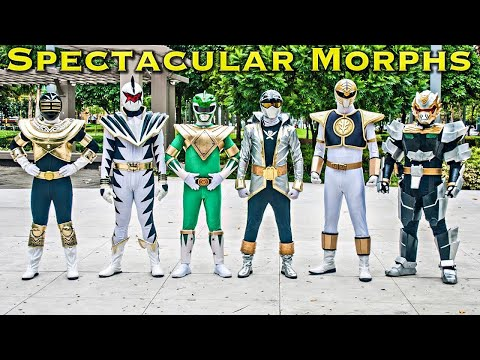 Spectacular Sixes and Extra Rangers Morphs [FOREVER SERIES] Power Rangers | Super Sentai