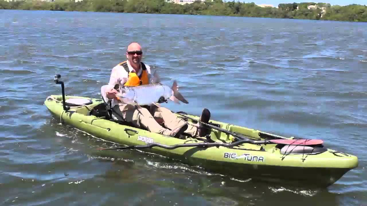 Tarpon fishing in puerto rico with jackson kayak youtube for Fishing jackson kayak