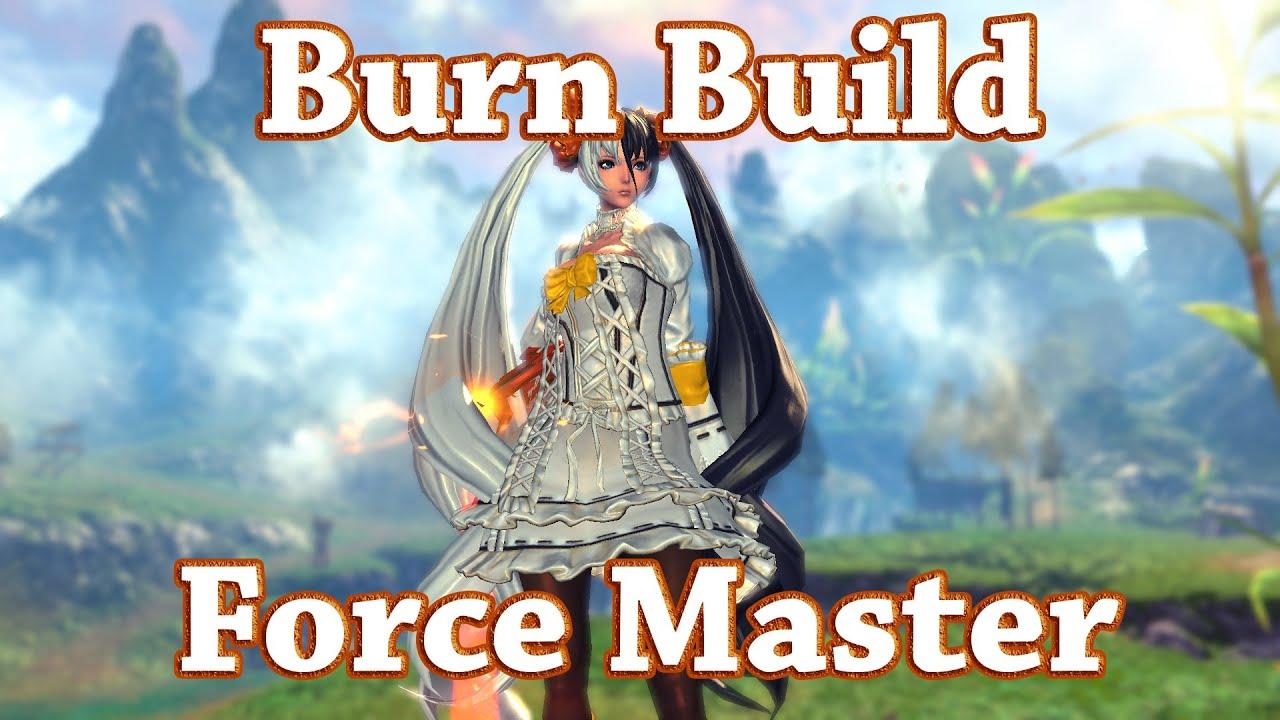 Blade Soul Force Master Lasted Popular Build Guides U4gm Com