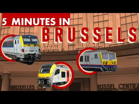 5 Minutes at Brussel-Centraal / Bruxelles-Central