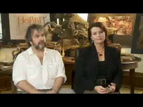 Intervju Hobit: Nepričakovano potovanje: Peter Jackson in Philippa Boyens