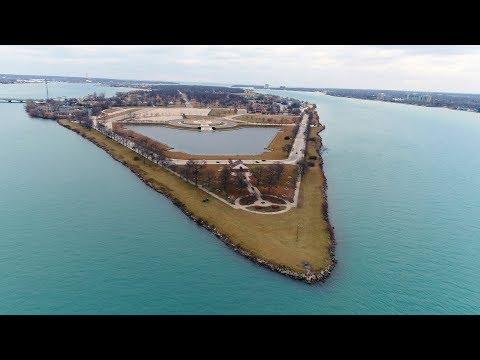 Drone Exploration of Belle Isle, Detroit, MI (DJI Phantom 4 Pro) [4K]
