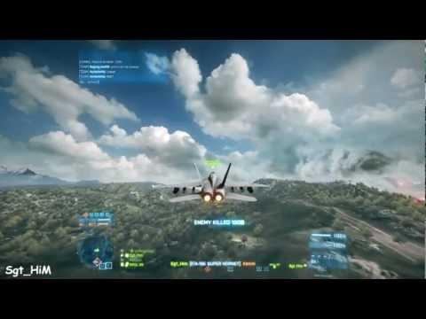 111 kill streak 0 deaths - jet gameplay- battlefield 3