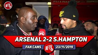 Arsenal 2-2 Southampton | We Played Like Cowards Today! (Curtis)