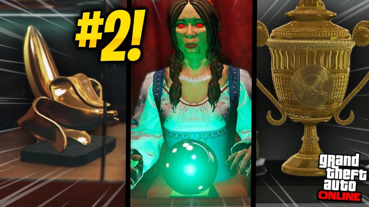 GUIA - ESTATUETAS DO GTA ONLINE: FLIPERAMA E ARENA!!! (Parte #2) [goodies / trophies / awards]