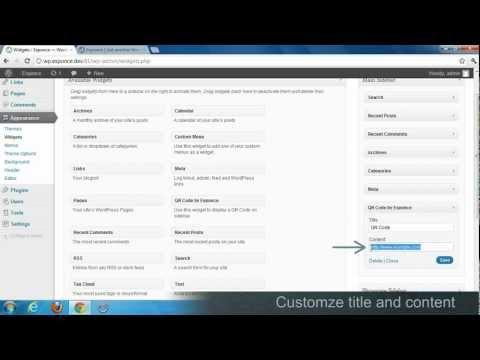 WordPress QR Code plugin