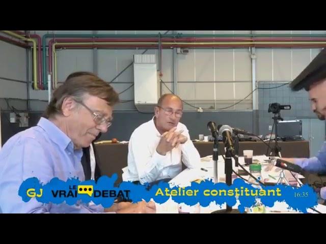 Atelier Constituant - C. Laurut / E. Chouard
