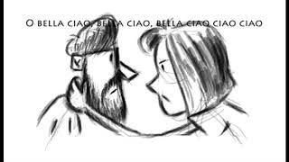 Bella Ciao animatic    Tarek Benbaba
