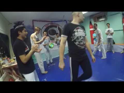 Roda Ano Novo 2017! Mundo Capoeira Novosibirsk