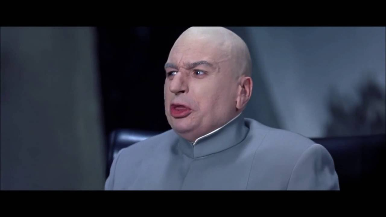 Sharks With Frickin Laser Beams Dr Evil Austin Powers Youtube