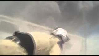 Авиаудары по игил Сирия Камера боевиков засняла момент удара ВКС РФ