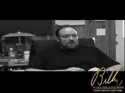 "Josh Turner in the studio singing ""Almost Persuaded"""