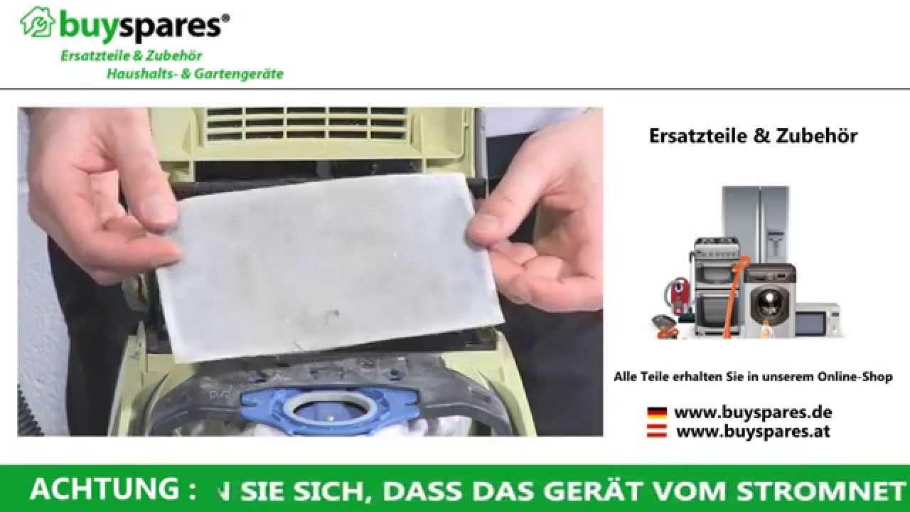 Microfilter Miele Jazz Plus Filter Motorschutzfilter Universal Motorfilter