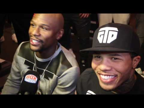 'YOU PROBABLY SOLD THE MOTHERF*CKER!' FLOYD MAYWEATHER & GEVONTA DAVIS BANTER ABOUT SIGNED PHONE