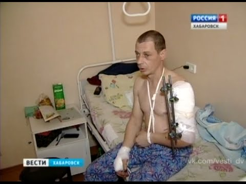 Вести-Хабаровск. Тигр напал на человека