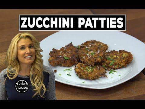 VegetarianFriendly Zucchini Patties  Lisa's Home Cooking Ep02