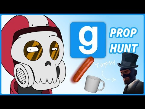 Gmod Prop Hunt| Funny Moments| Slippery Little Sassage