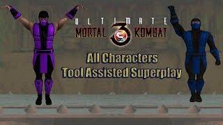 Ultimate Mortal Kombat 3 - All Characters【TAS】
