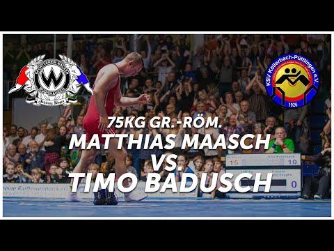RINGEN - DMM FINALE (Rückkampf)  - 75kg GR - Matthias Maasch Vs.Timo Badusch