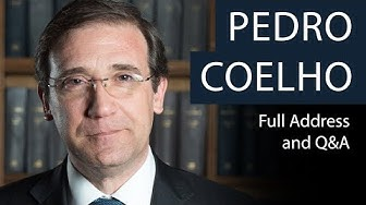 Pedro Passos Coelho | Full Address and Q&A | Oxford Union