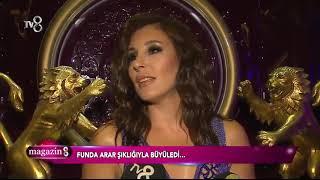 Funda Arar, şıklığıyla büyüledi! Video