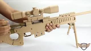DIY Kartondan AWP Silah  Yapımı   Awp making from cardboard şablonu ile birlikte