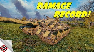 World of Tanks - T95 DAMAGE RECORD! (WoT T95 gameplay)