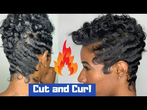 Soft waves and curls | How to finger wave