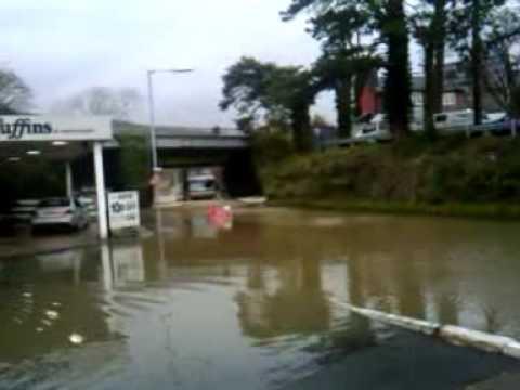 flooding in Machynlleth